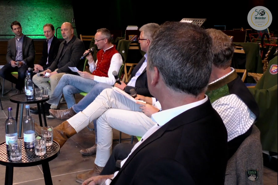 Interessante  Podiums-Diskussion